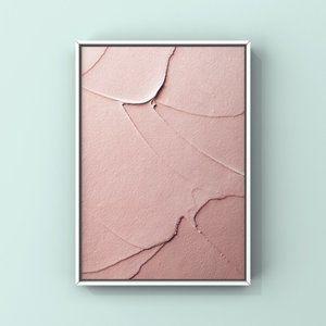 Modern minimalist textural abstract wall art print